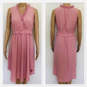 Loft outlet blush pink dress